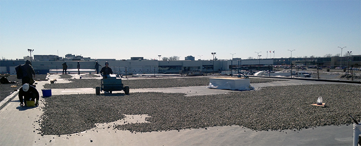 Roof Industrial Roofing Commercial Roofing EPDM tremco