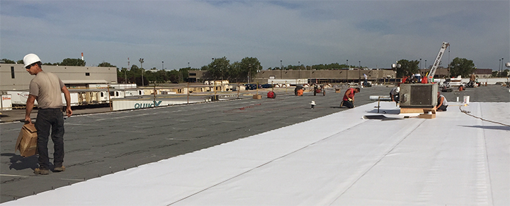 Roof Industrial Roofing Commercial Roofing TPO